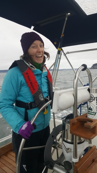 The first time I ever sailed my boat in December 2017!
